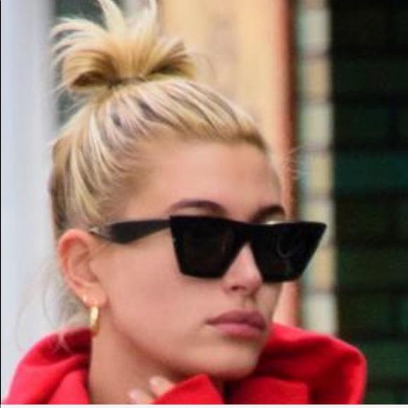 ad2fb009767f3 New Authentic Celine Cat Eye Sunglasses Black